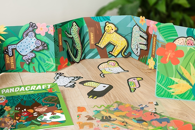 pandacraft kit foret amazonienne avril 2019