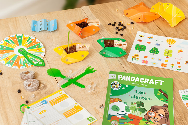 pandacraft kit les plantes